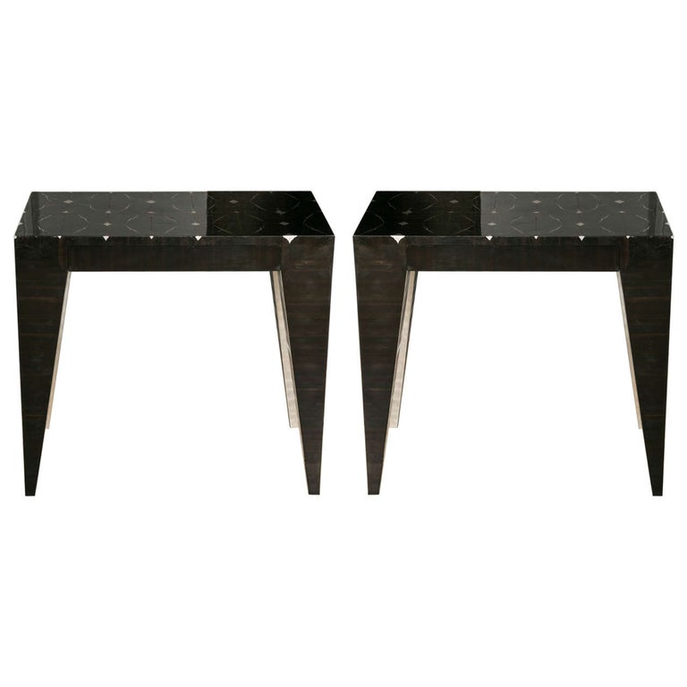 pair of bedside tables at cost price For Sale