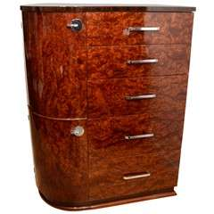 Art Deco High Chest