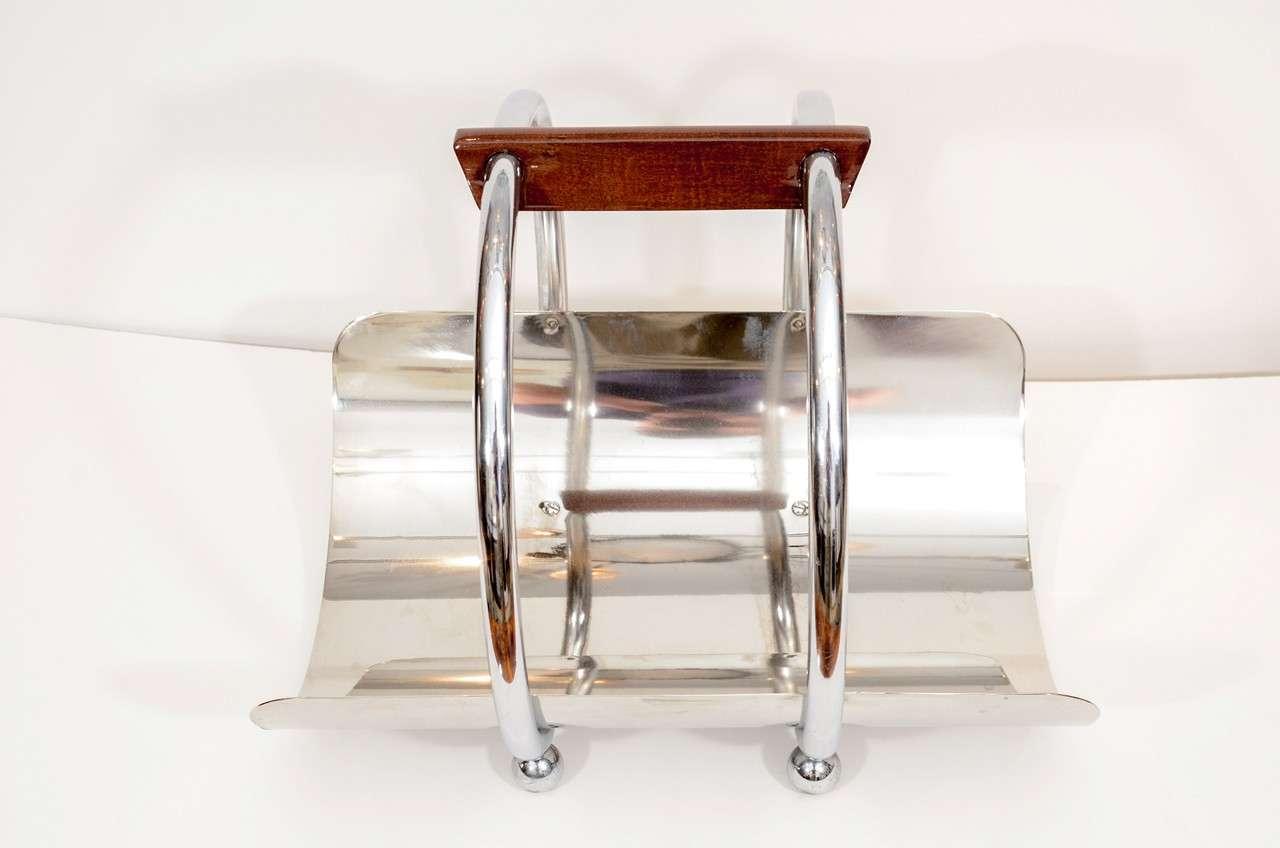 Art Deco Log Basket : Art deco fireside wood basket at stdibs