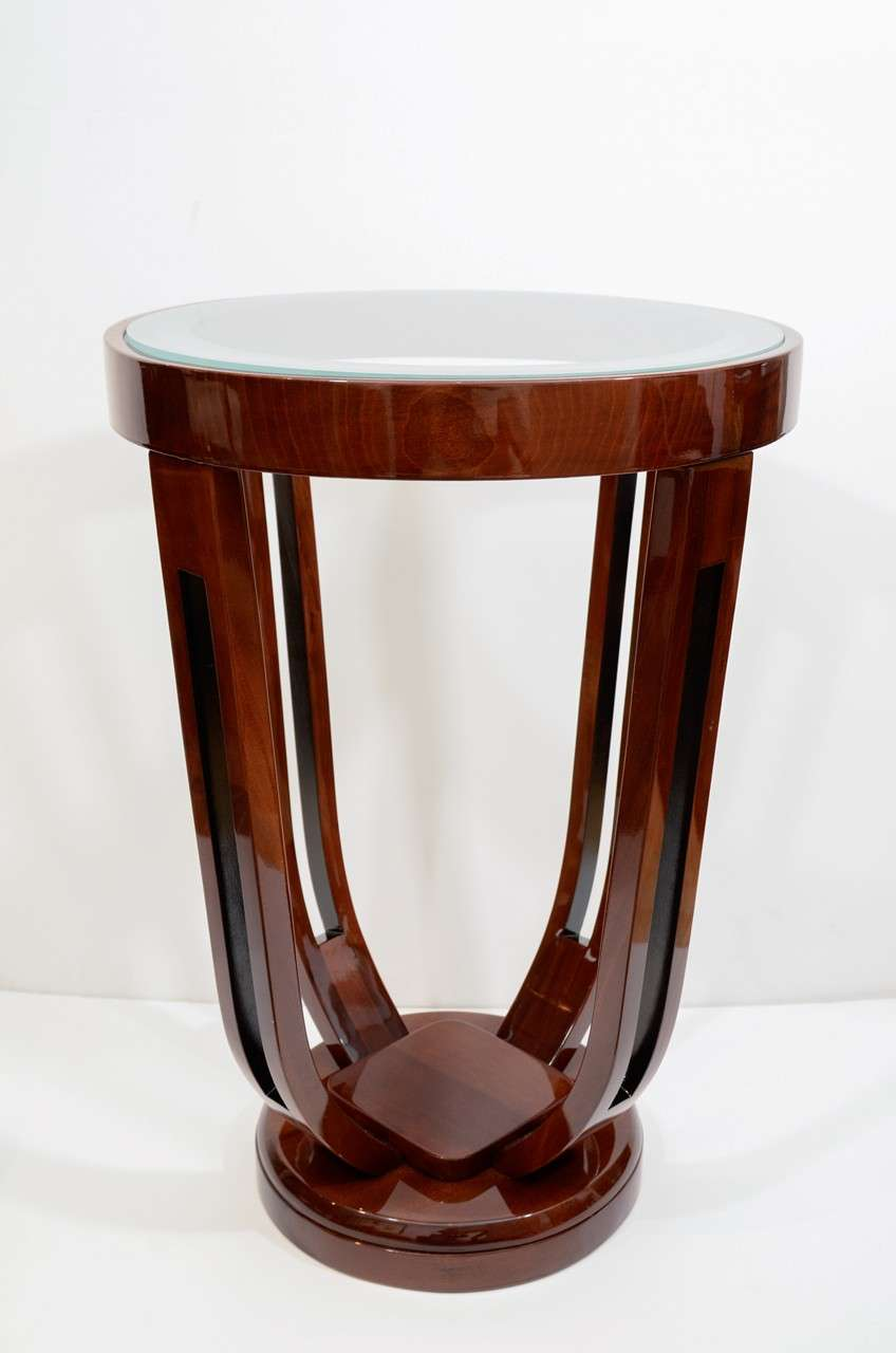 Deco Tulip Pedestal Table Rustic 28 Images Two