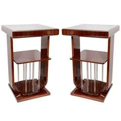 Art Deco Square Lamp Tables