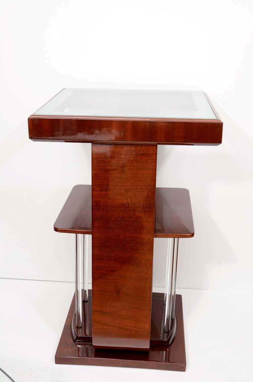 Art Deco Square Lamp Tables For Sale At 1stdibs