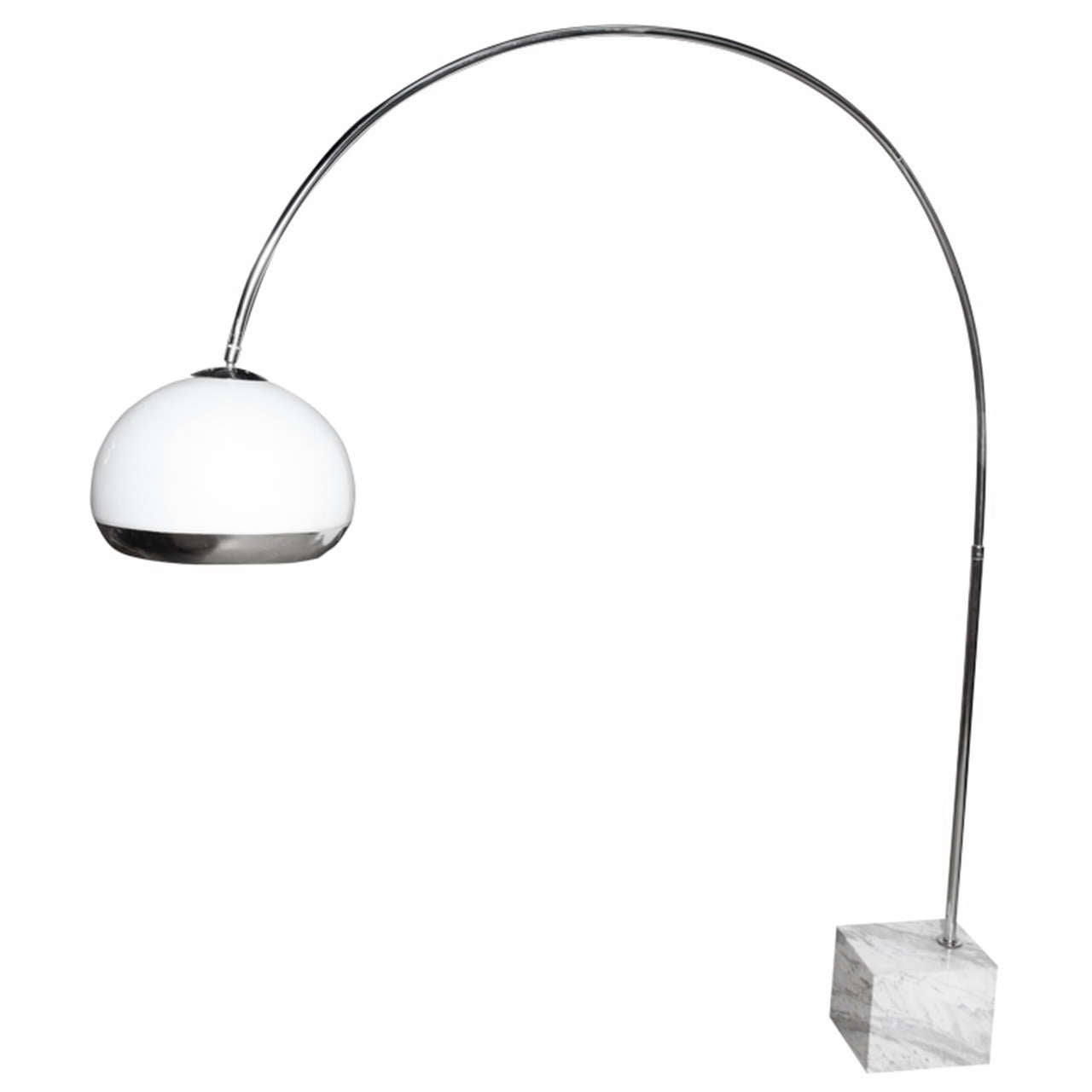 harvey guzzini for laurel lighting co arc floor lamp at stdibs - harvey guzzini for laurel lighting co arc floor lamp