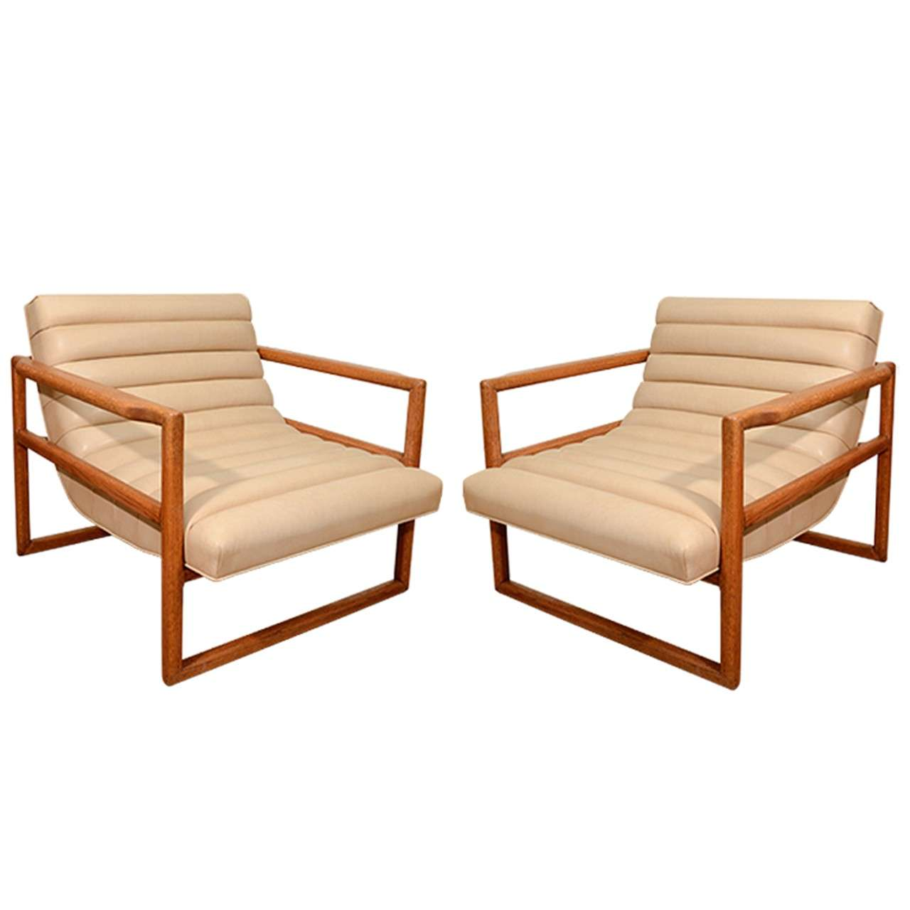 Milo Baughman Armchairs For Sale