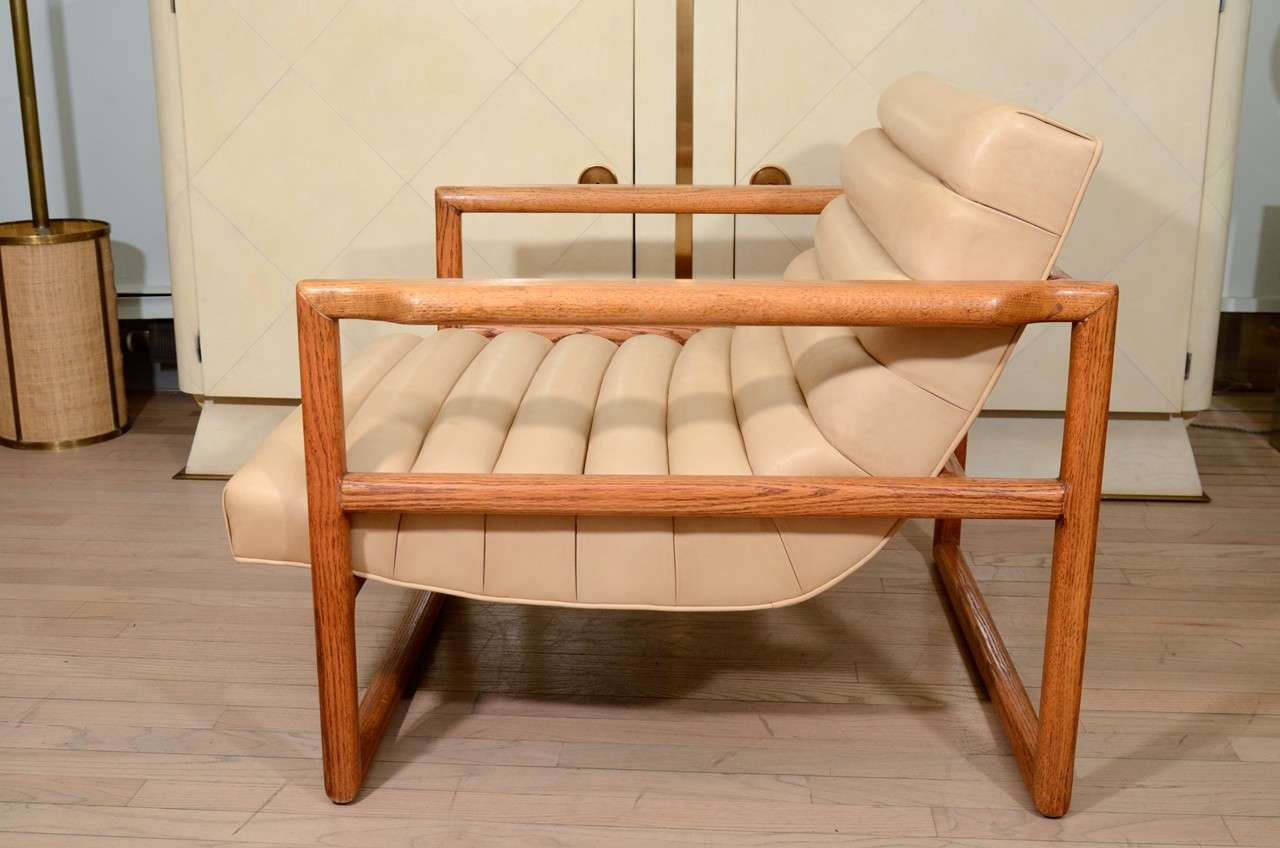Mid-20th Century Milo Baughman Armchairs For Sale