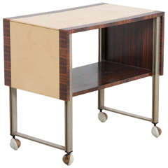 Macassar De Coene & Knoll Desk Coffee Table,Bar Cart
