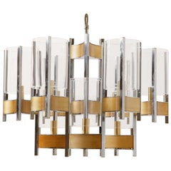 Whimsical Sculptural Sciolari Chandelier.