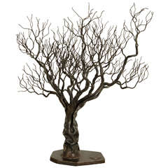 Forged Iron Olive Tree, 2012, by Manuel Simon