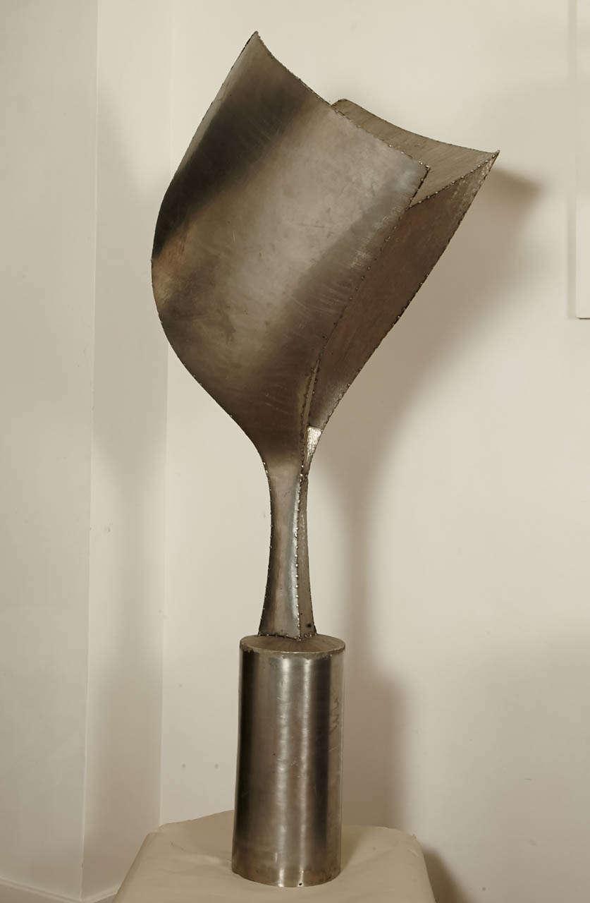 Steel Sculpture, Expansion, 1991 by Tloupas Philolaos For Sale 2