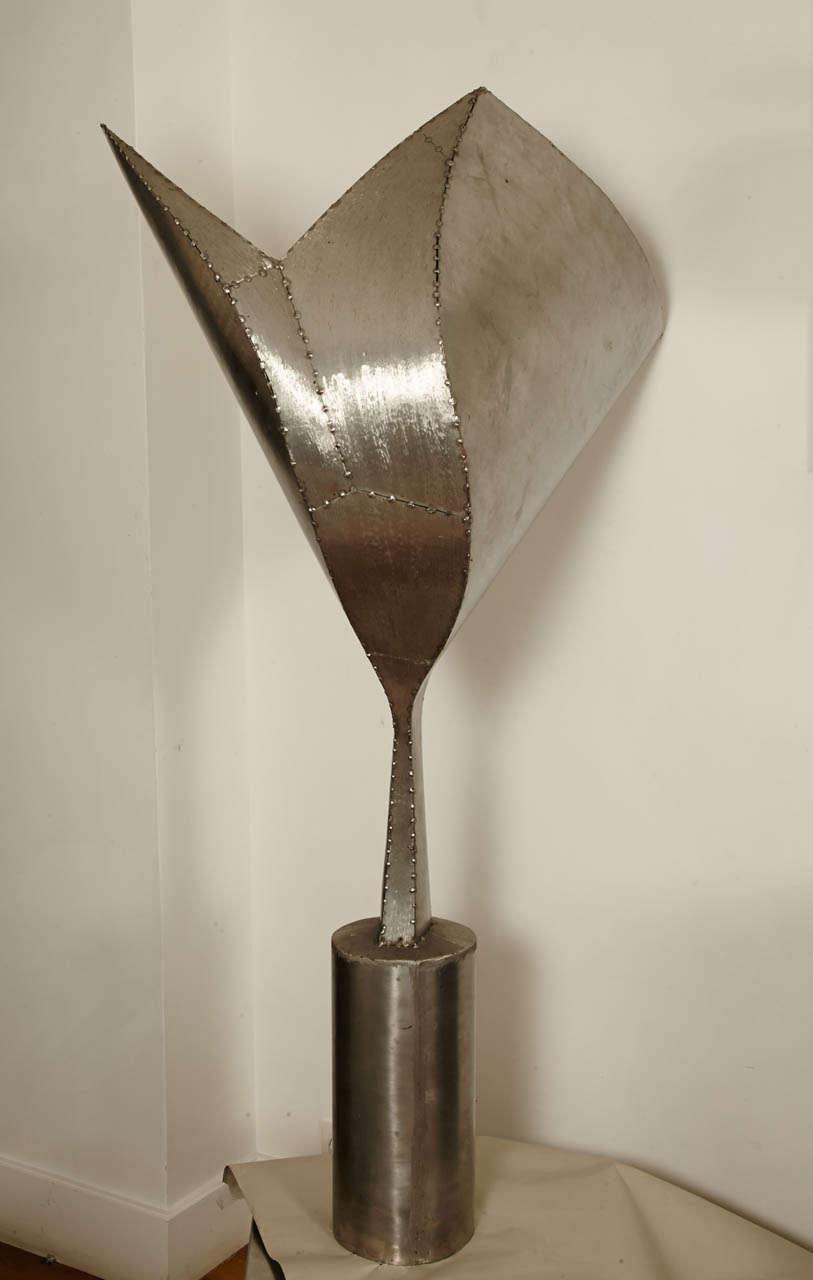 Steel Sculpture, Expansion, 1991 by Tloupas Philolaos For Sale 4