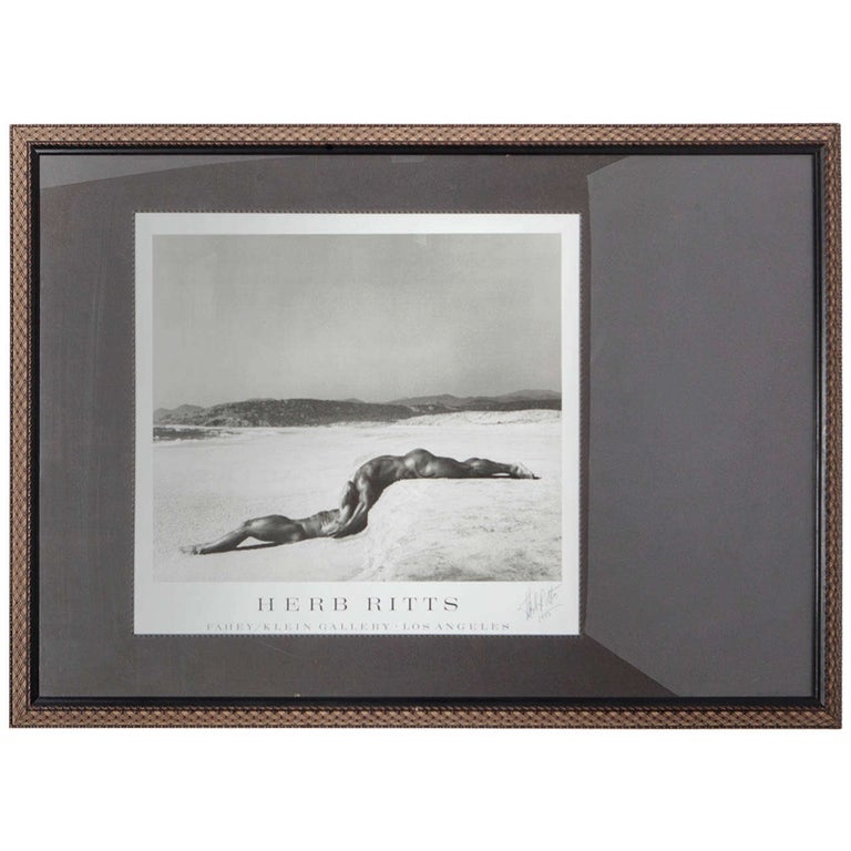 Signed Herb Ritts Poster For Sale