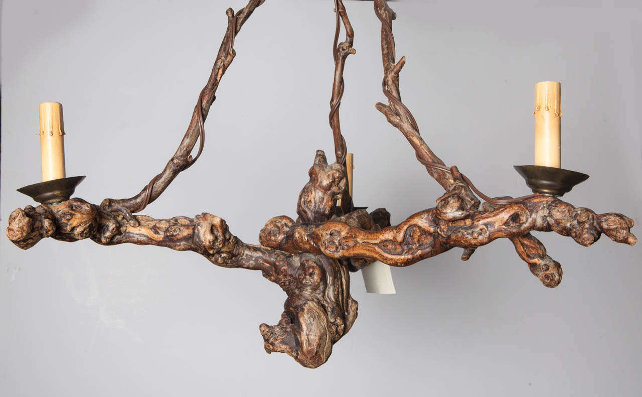 Grapevine chandelier french grapevine chandelier at 1stdibs french grapevine chandelier at 1stdibs grapevine chandelier aloadofball Choice Image