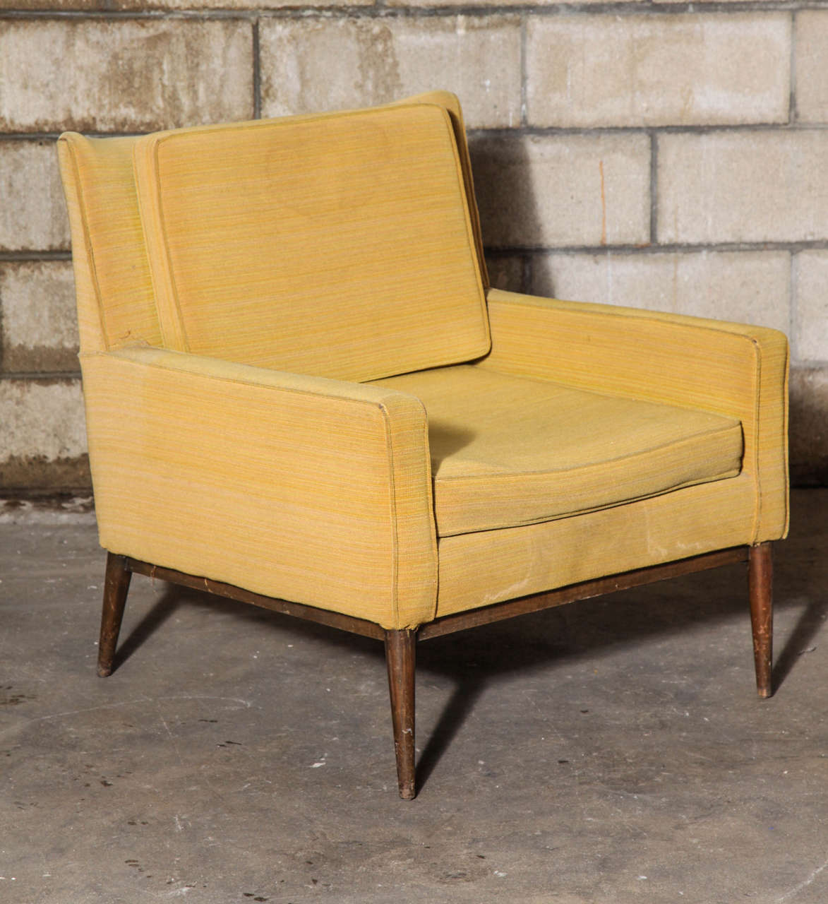 Charmant Paul McCobb Lounge Chairs And Ottoman