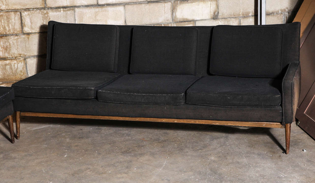 Mid-Century Modern Paul McCobb Sectional Sofa for Directional For Sale