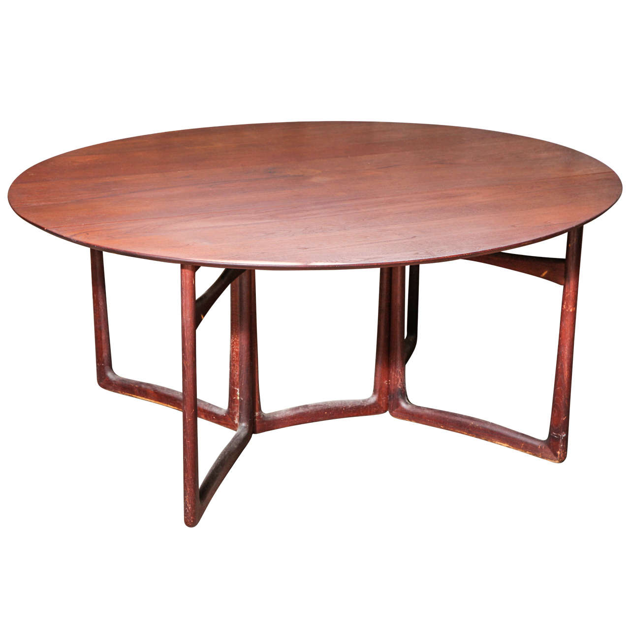 Peter Hvidt and Orla Mølgaard-Nielsen Drop-Leaf Dining Table