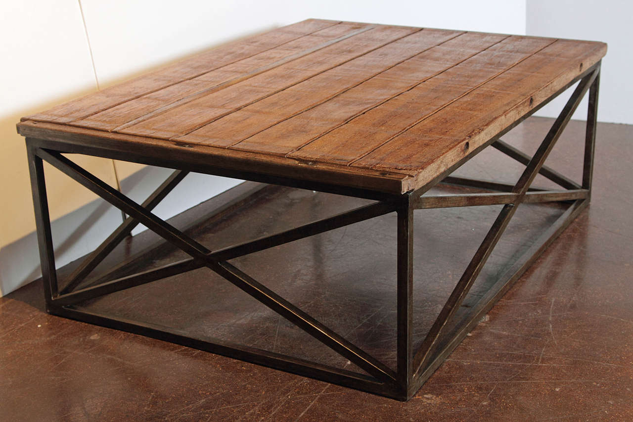 Dutch Brick Baker 39 S Coffee Table In Indonesian Teak At 1stdibs