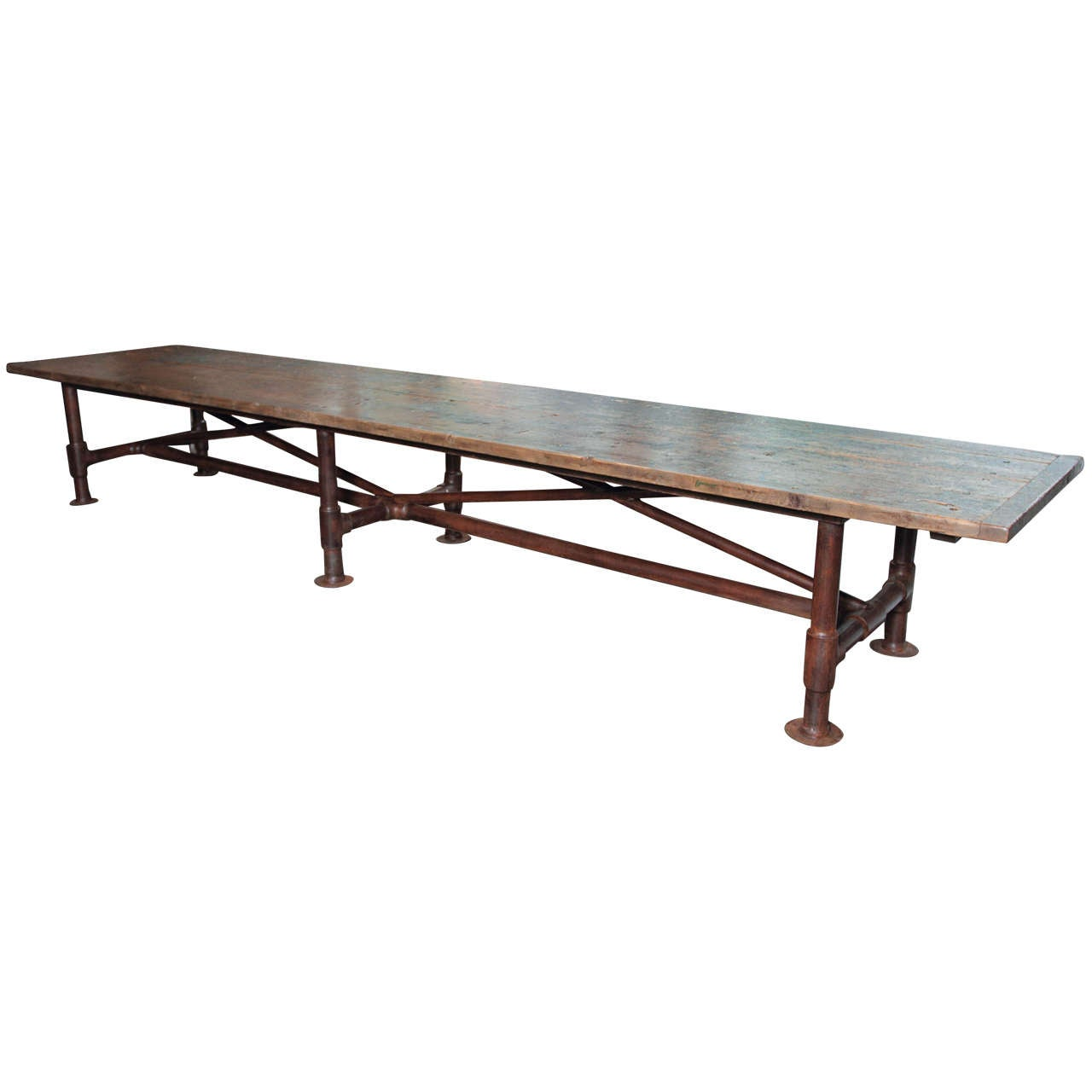Southbank 39 s long dining table at 1stdibs for Long dining table