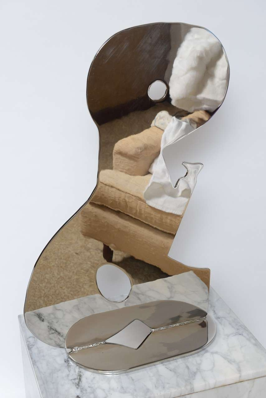 Metal on Marble Sculpture by Jack Schuyler In Excellent Condition For Sale In West Palm Beach, FL