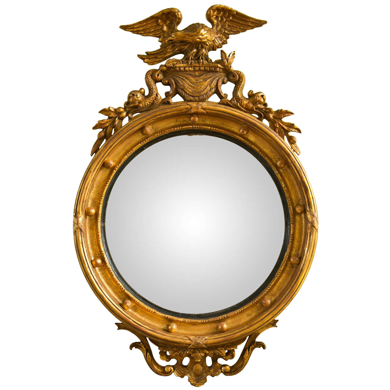 ca 1920 39 s federal style mirror at 1stdibs