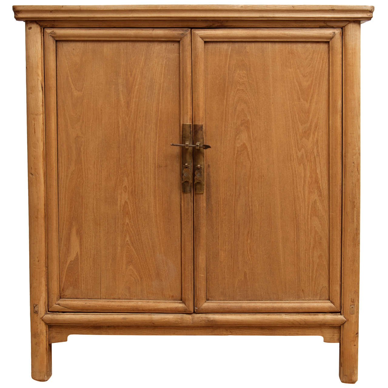 Natural Wood Cabinet At 1stdibs