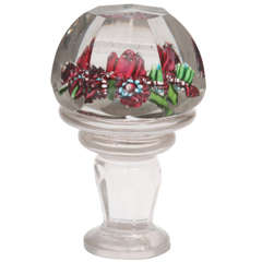 A Rare Russian Glass Paperweight Seal