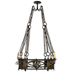1920s French Chandelier