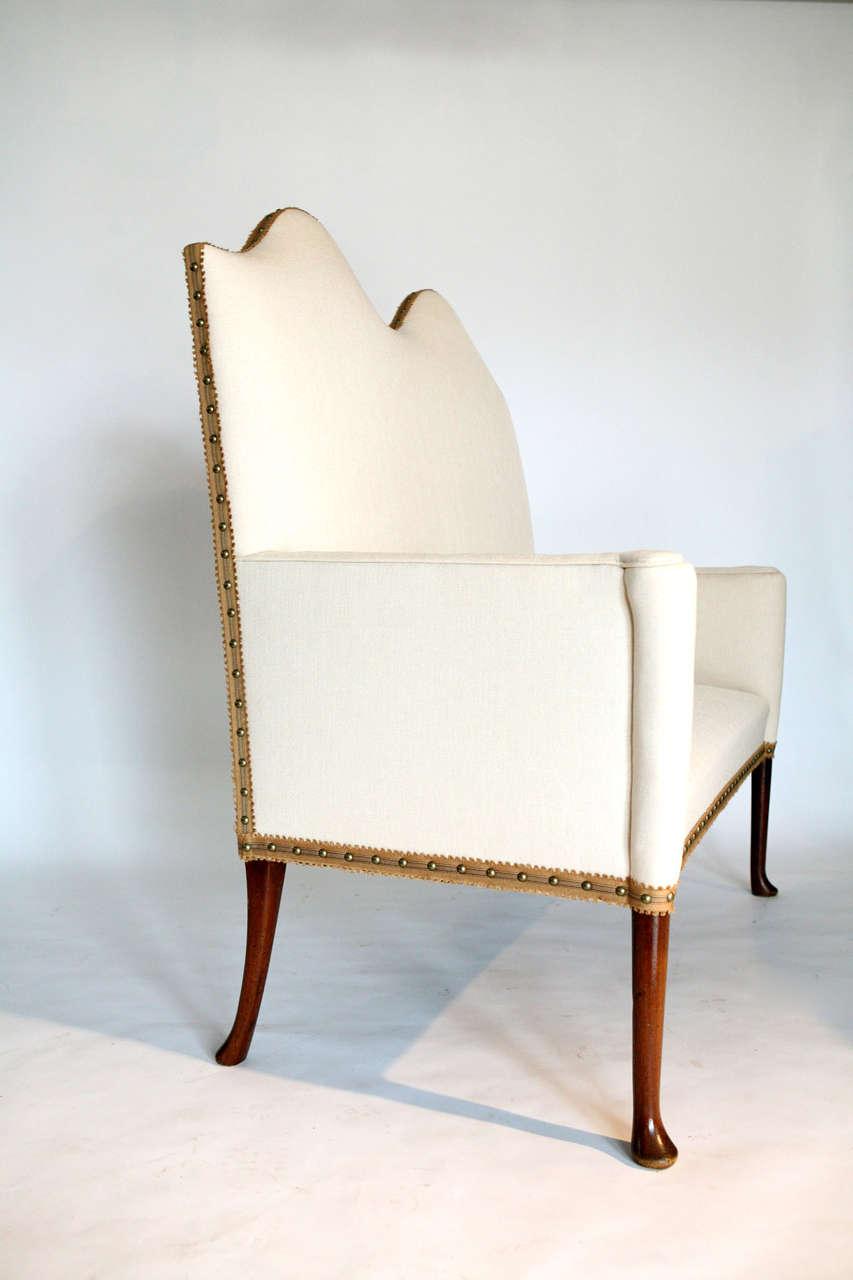 Camelback Sofa At 1stdibs