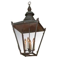 19th c. English Copper Lantern
