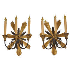 Pair Sconces by Borghese