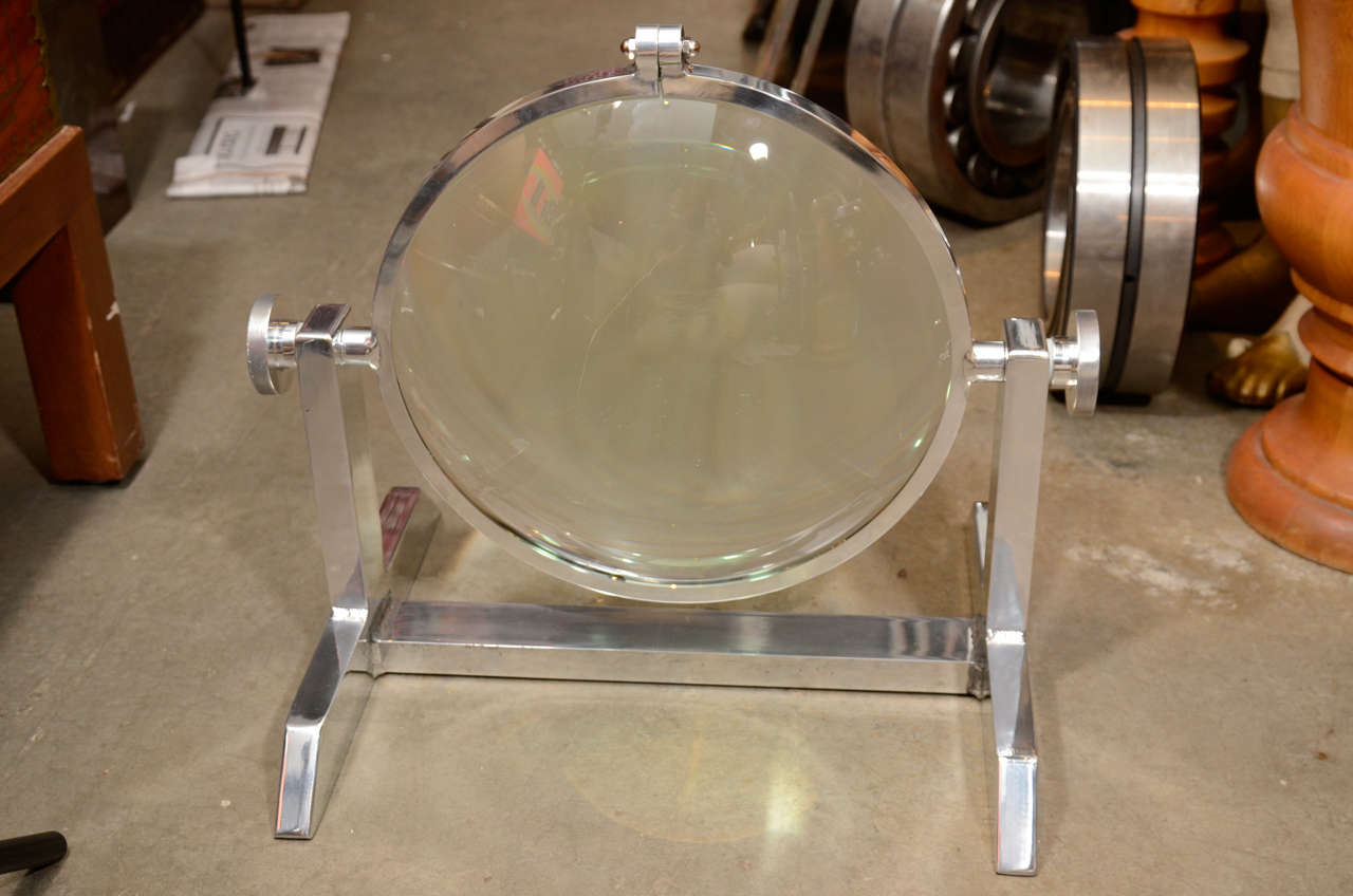 Giant Industrial Magnifier circa 1940 2