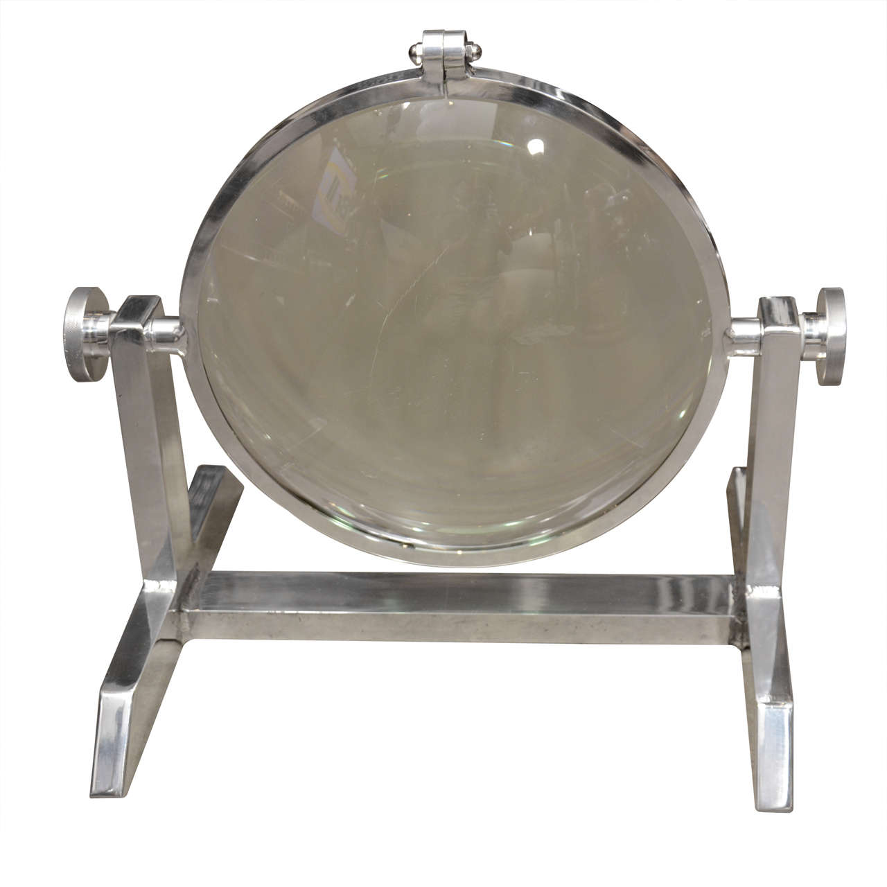 Giant Industrial Magnifier circa 1940 1