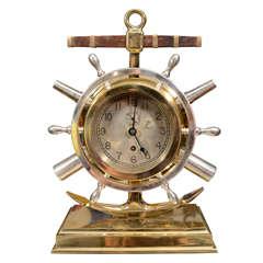 Giant Nautical Theme Chelsea Clock Circa 1920