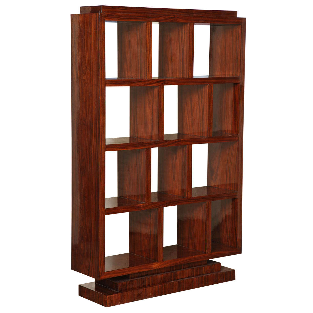 Art Deco Bookcase At 1stdibs