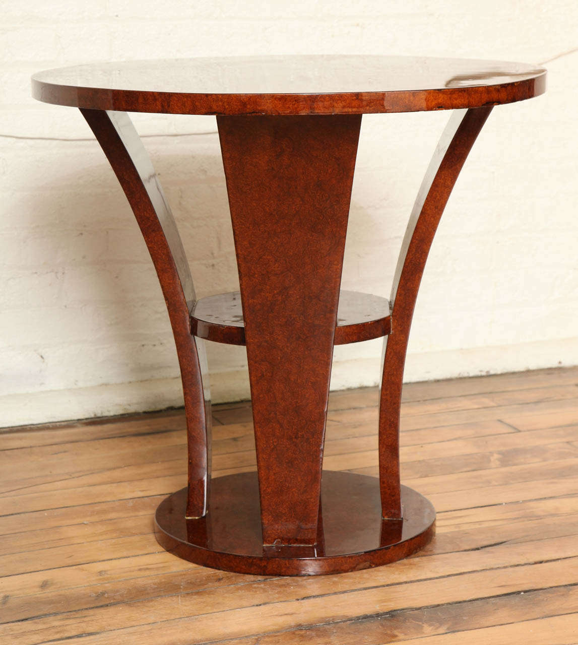Art deco side table gueridon at 1stdibs for Table gueridon