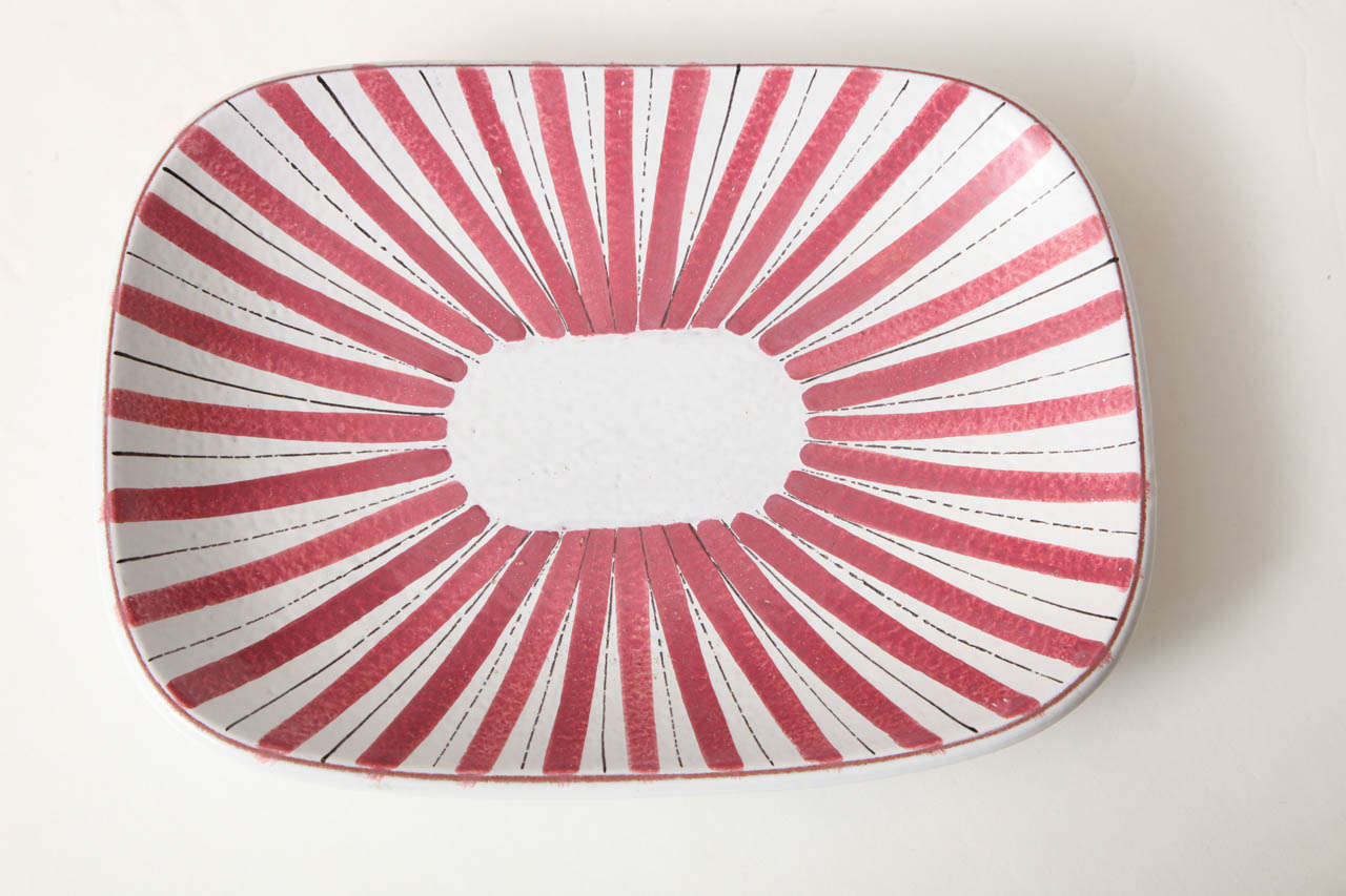 Mid-Century Modern Ceramics Bowls by Stig Lindberg, Sweden, circa 1950 For Sale