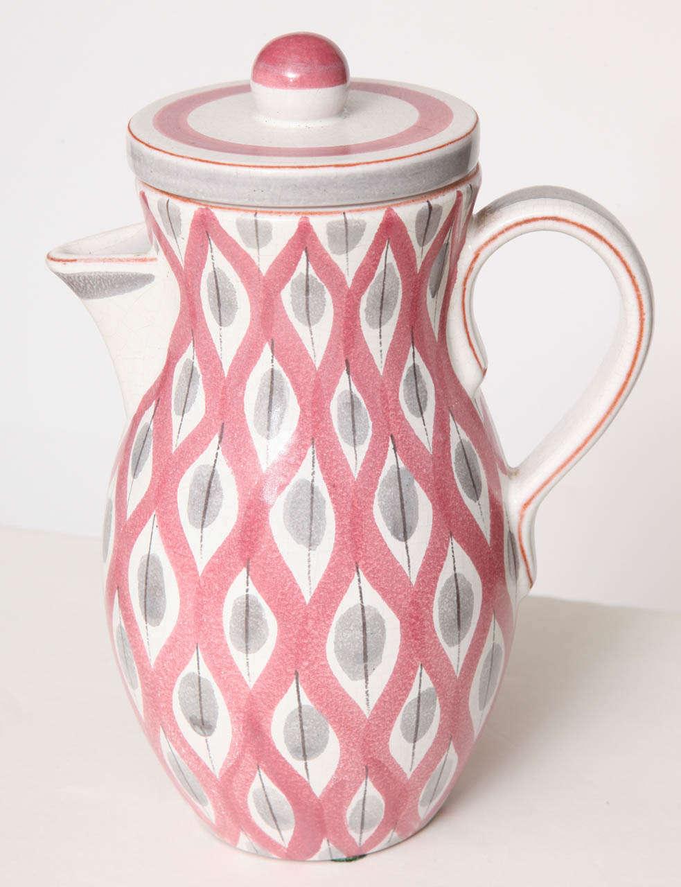 Hand-Crafted Ceramics Bowls by Stig Lindberg, Sweden, circa 1950 For Sale
