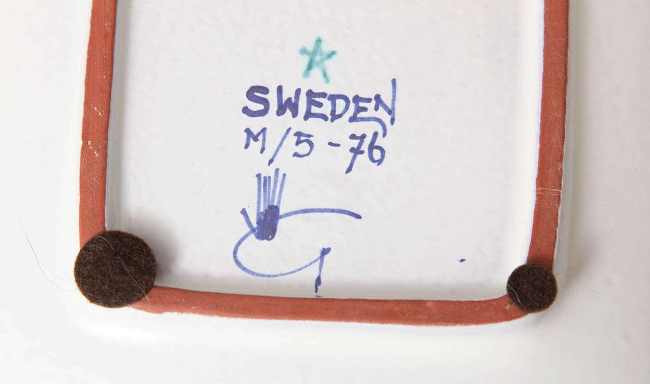Ceramics Bowls by Stig Lindberg, Sweden, circa 1950 For Sale 2
