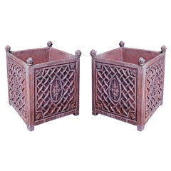 Pair of Terracotta Planters