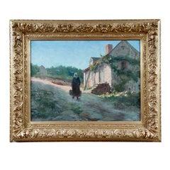 Framed Oil On Canvas