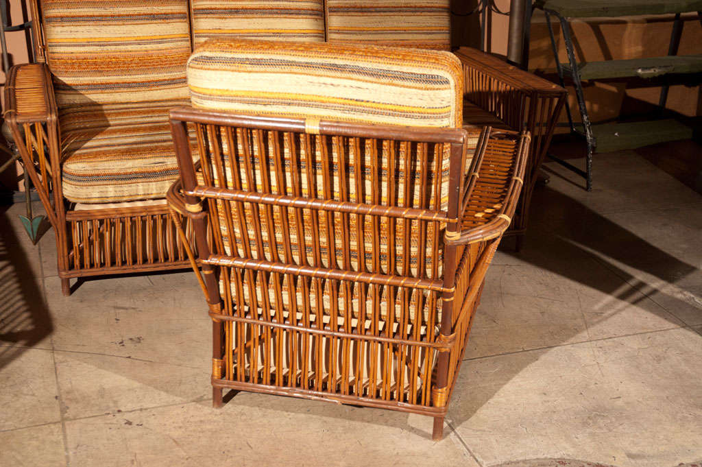 1940 S Rattan Wicker Set At 1stdibs