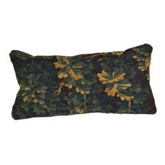 18th c. Aubusson Pillow