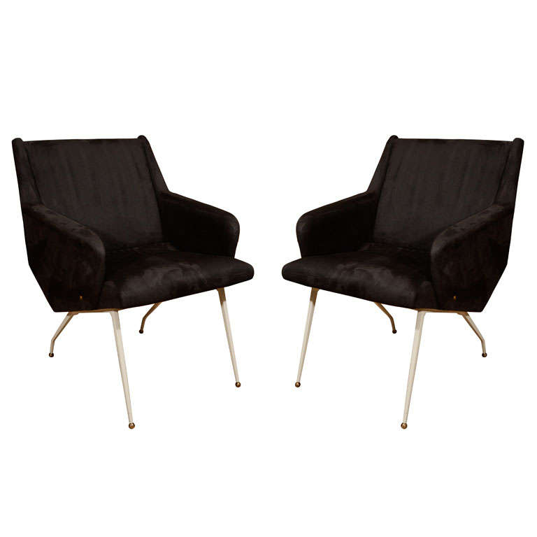 Louis Sognot Armchairs 1