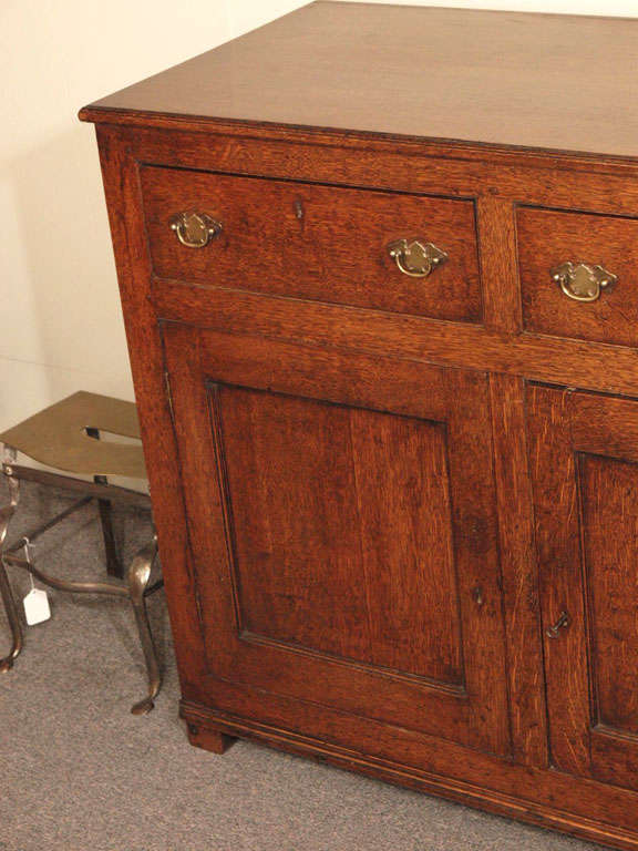 Antique english country oak cupboard at 1stdibs for English country furniture
