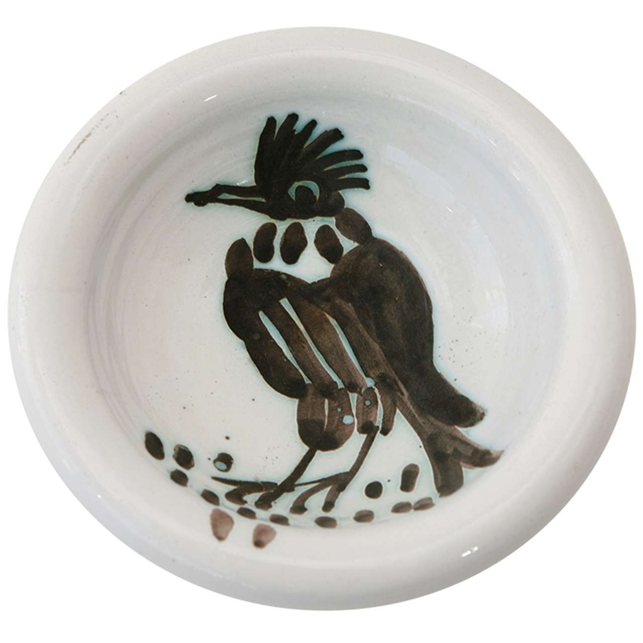 Bird With Tuft A R 173 Shallow Bowl By Pablo Picasso At