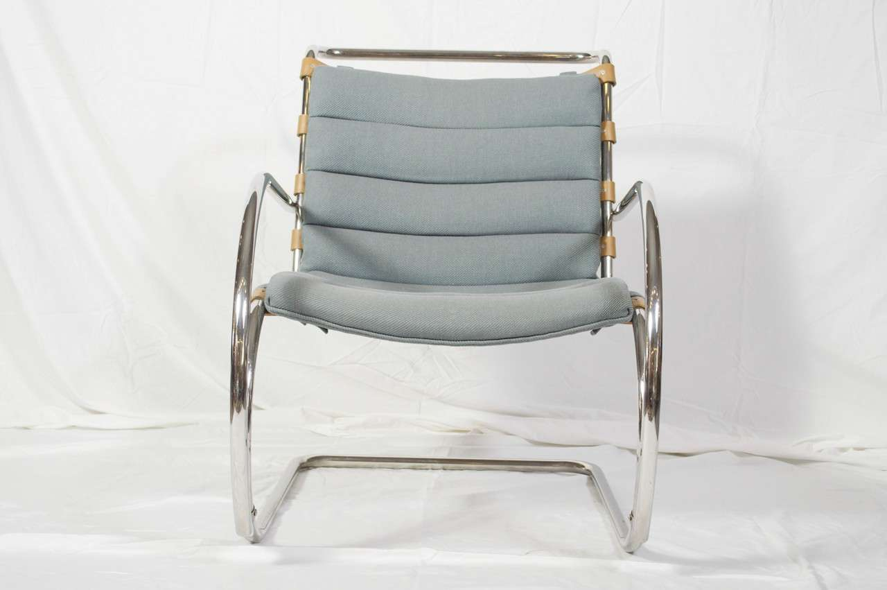 this mies van der rohe for knoll international mr lounge armchair is