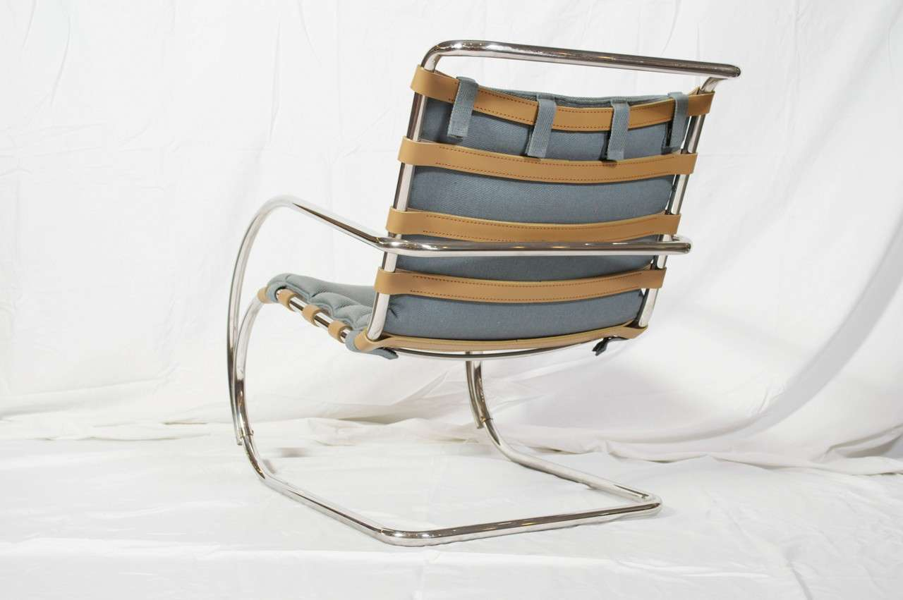 Mies Van Der Rohe For Knoll International MR Lounge Armchair At 1stdibs