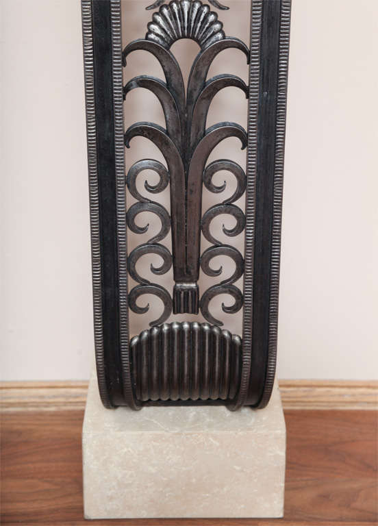 Art Deco Style Console in the manner of Brandt In Good Condition For Sale In Bridgewater, CT