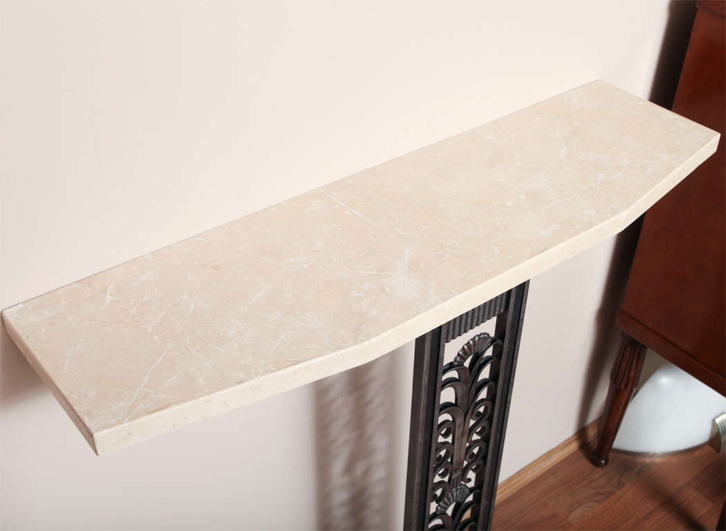 Art Deco Style Console in the manner of Brandt For Sale 1