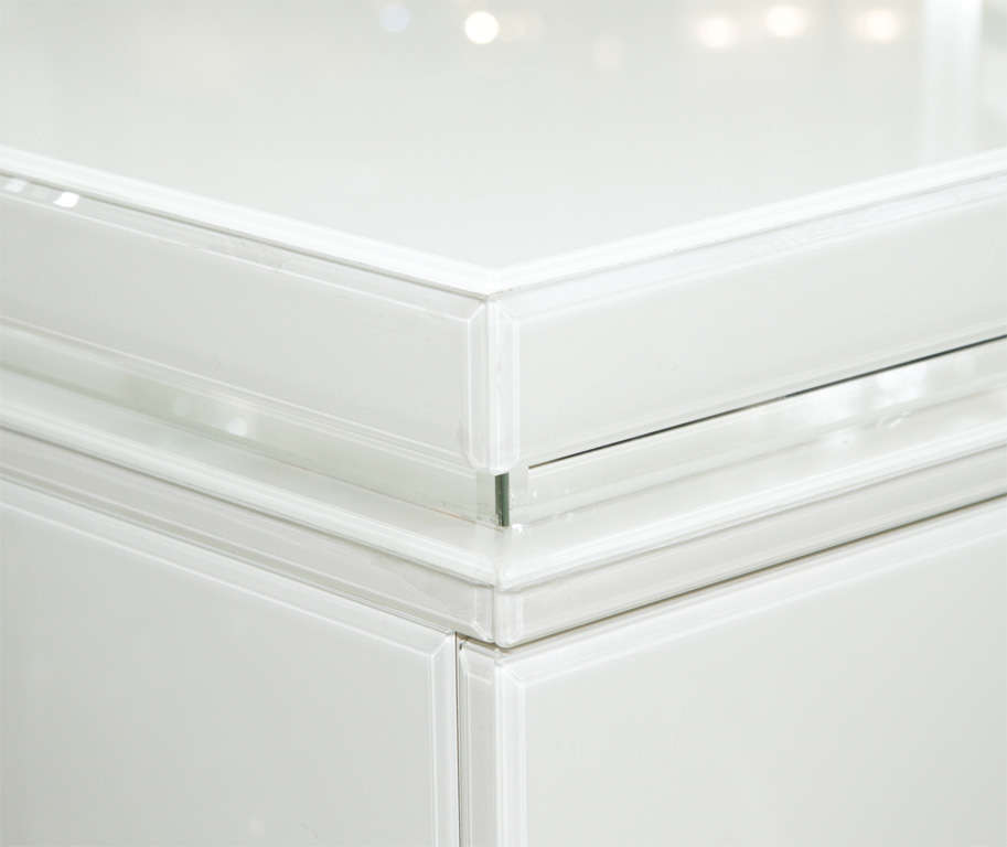 Reverse Painted Glass Sideboard 5