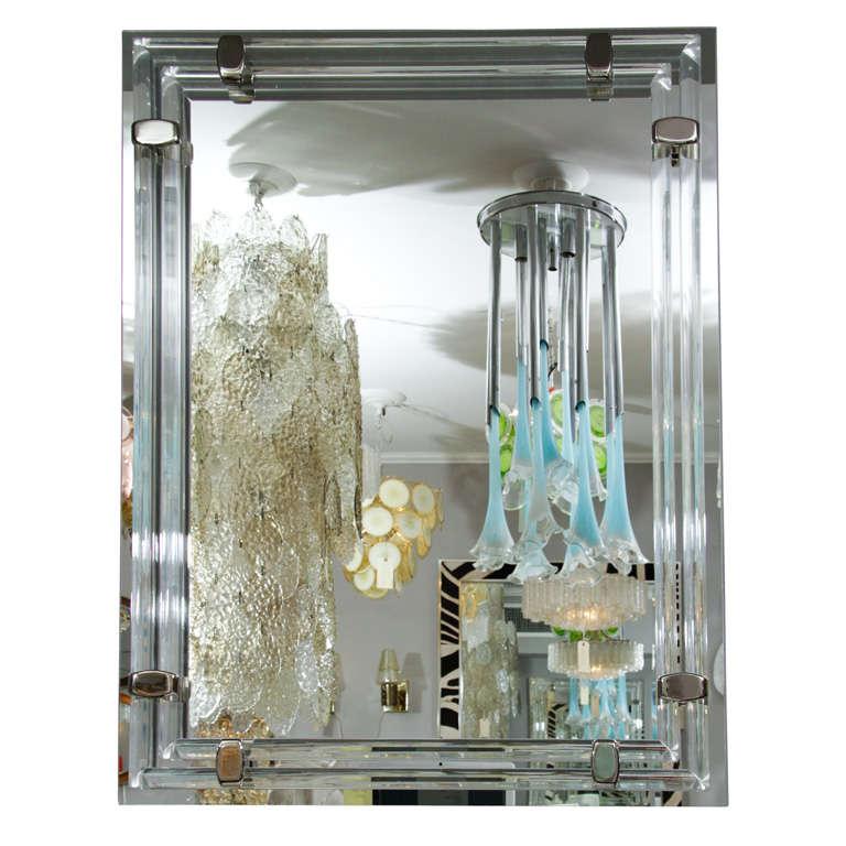 Glass Rod and Polished Nickel Tubular Mirror